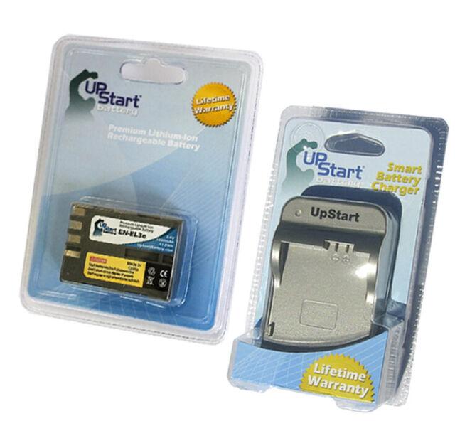 Battery + Charger for Nikon D50, D300S, EN EL3A, MB D200 Grip