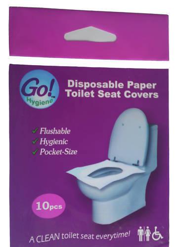 Disposable Paper Toilet Seat Covers - 100PCS BOX W'SALE