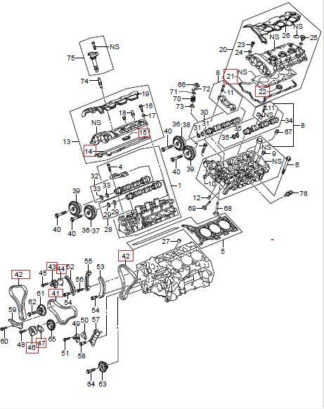 2007 2009 Suzuki Grand Vitara Xl7 Timing Chain Oem Kit For Sale