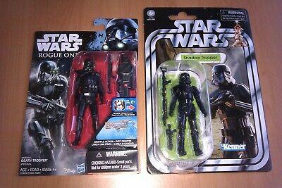 Playskool Star Wars Galactic Heroes Imperial Death Trooper Shadow Rare Rogue 1