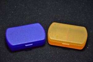 2-Pillenboxen-Pillendose-Tablettendose-Tagesbox-Pillenspender-2-Faecher-1Tag