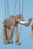 Sunny and Company Toys Jungle Animal (Elephant) Small Marionette (B339) - WB339 Toys