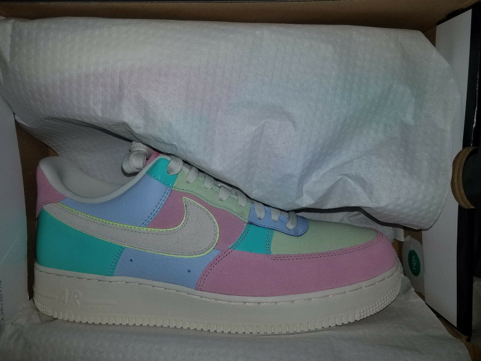 Nike Air Force 1 '07 QS Low Easter Deadstock New 2018 US size 11 Comfortable and good-looking