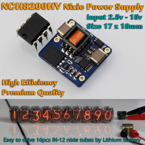 NCH8200HV Nixie 2.5-15V Tubes Hochspannung Stromversorgung Module Netzteil