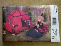 Vogue Pattern 9832 Camping Set For 18 Dolls Uncut Vintage 1998