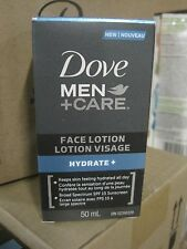Dove Men + Care Face Lotion Hydrate + SPF 15, 1.69 oz 50 ml  Free Shipping