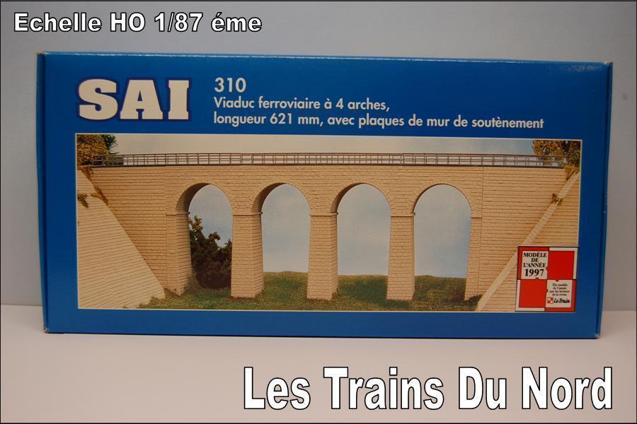 SAI Maquettes Pont en pierre 4 arces SAI 310 {65533;rough 6553333; kele HO