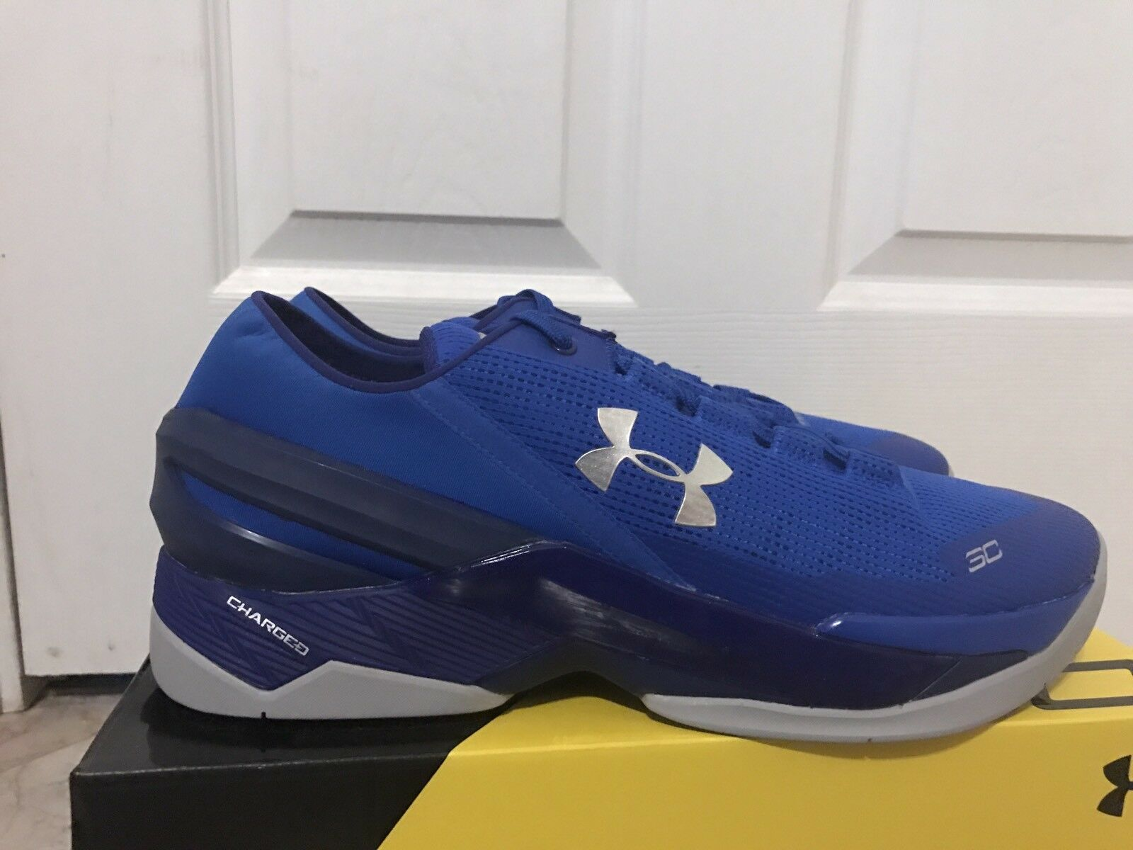4f0960daf50e Under Armour Men s UA Curry Two Low Basketball Shoes 1264001-907 ...