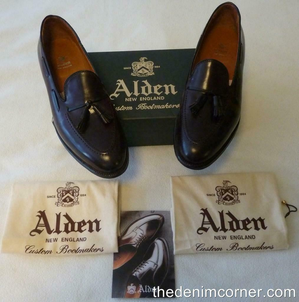 new style 0b271 8c4c8 BNIB Alden Tasseled Loafer color 8 Shell Cordovan Size 11.5 Aberdeen 563  Last nnyovc9643-Dress Shoes