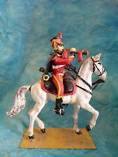Lead toy soldier - Soldat de plomb - Hussard premier empire (2)