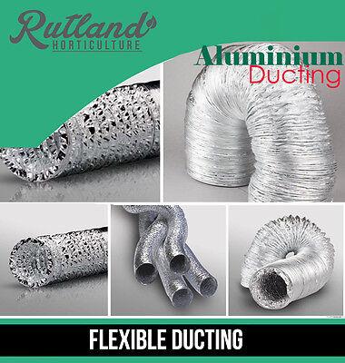 4 5 6 8 10 12 Aluminium Foil Flexible Ducting Ventilation & Hydroponic Accessory