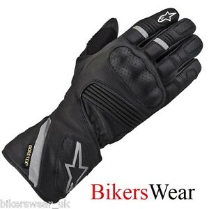 Alpinestars-WR-3-GTX-Gore-Tex-Leather-Waterproof-Motorcycle-Scooter-Gloves-S-M-L
