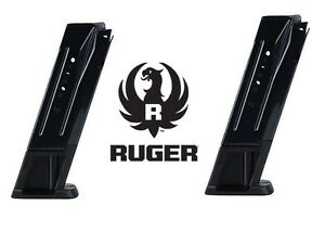 Details about 2 Pack Ruger SR9 p19/10 9mm Magazine 9 mm 10 Round Mag  Magazines p1910