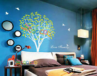 "Wall Decor Decal Sticker Removable vinyl large tree 72""H"