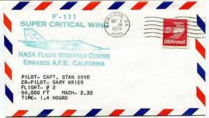 1974 F-111 Super Critical Wing - Flight Research Center Edwards California Nasa Vif Et Grand Dans Le Style