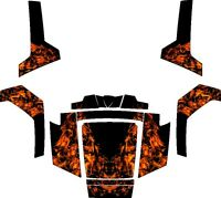Polaris Rzr Ranger 570 800 900 Xp 4 Graphics Decals Wrap Doors Utv Side X Side 6