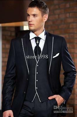 Hot Men's Wedding Suits Formal Tuxedos Business Suits Bridegroom Suits Blazers