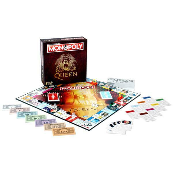 Monopoly Queen Limited Edition Board Game For Family And Friends Christmas New