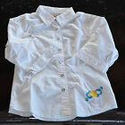 KAPORAL -Très jolie chemise blanche manches 3/4- Taille 10 ans - EXCELLENT ÉTAT