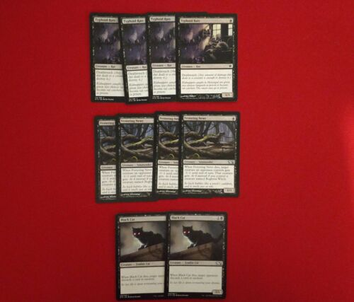 MTG Budget Modern Black White Bogbrew Witch Festering Bubbling Theme Deck Magic