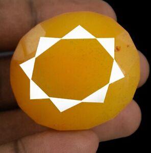Festive Discount Yellow Sapphire Oval Cut 273.20 Ct Madagascar Gemstone Natural