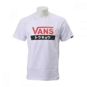 56bbfdfae2 Details about VANS T-shirts tshirts TOKYO Japan TEE VA18SS-TKABC 18SP WHITE