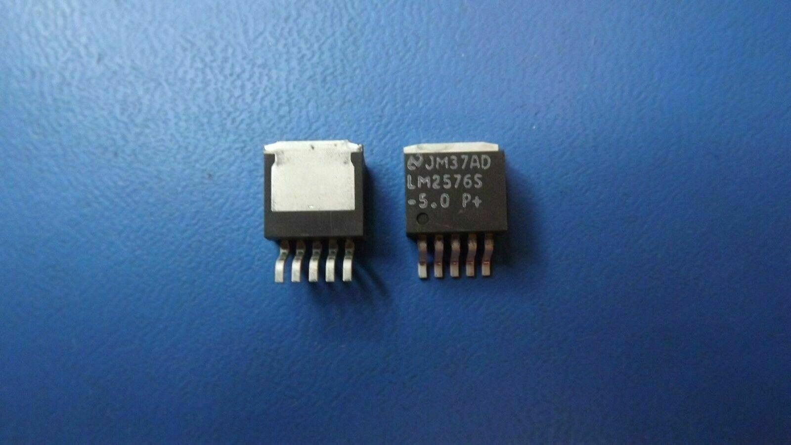 LM2576S-3.3  Texas  Schaltregler  3A  3,3V   TO263-5  NEW  #BP 1 pc