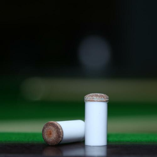 5pcs Slip-on Pool Cue Tips Plastic Snooker Cue Ferrule Billiard 11mm// 13mm NEW