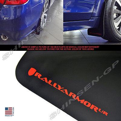 Rally Armor UR Black Mud Flaps w// Grey Logo for 2015-2018 Subaru Legacy Sedan