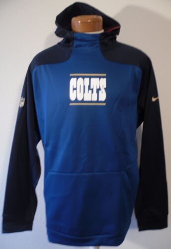 Nwt 80 Msrp Hombres Blue Gold Hoodie Indianapolis S Collection 685068612046 Nike Colts AOnA4v6