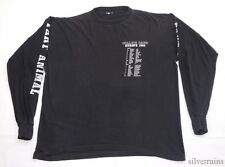 ROLLINS BAND Vintage T Shirt 90's Tour Concert 1992 Europe End Silence LS Dates