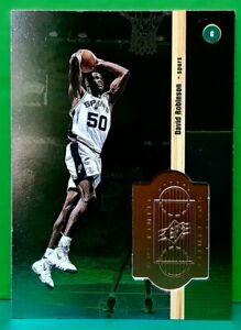 David Robinson regular card 1998-99 Upper Deck SPx Finite #33