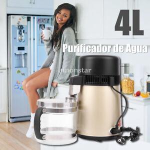 4L-Purificador-Destiladora-Destilador-Oro-Maquina-de-Filtrar-Pura-Agua-Destilada