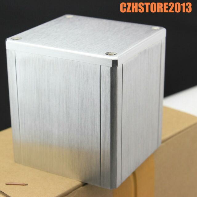 1x Full aluminum enclosure case cover for audio amplifier transformer 84*80*86mm