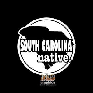 NORTH CAROLINA NATIVE vinyl sticker State Pride Window Bumper Locker Car Truck