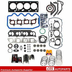 85-89 TOYOTA COROLLA GTS MR2 HEAD GASKET SET BOLTS GASKET SILICONE KIT 4AGE