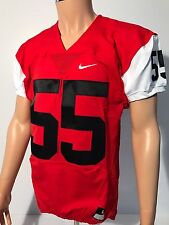 Nike Men's Red 55 Mach Speed Football Jersey Style 789929 Size Large