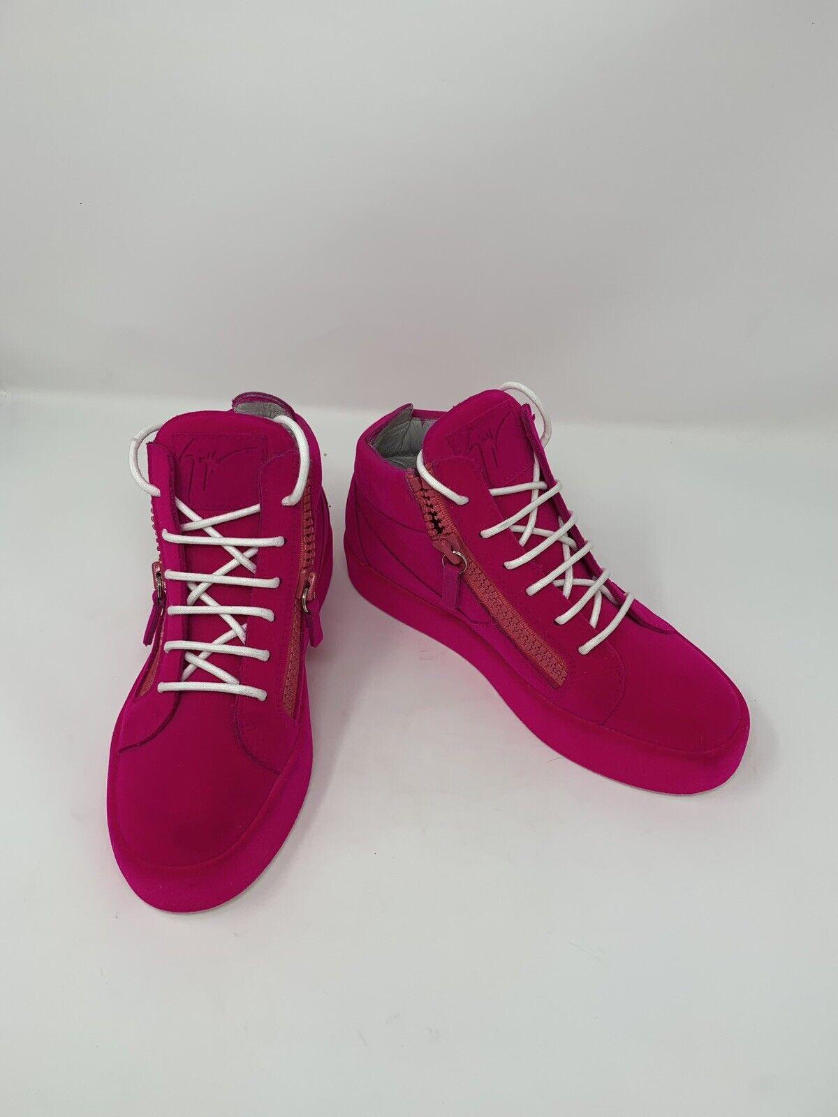 Stunning Brand New Neon Pink Giuseppi Zanotti Trainers  Size EU 38  Unisex