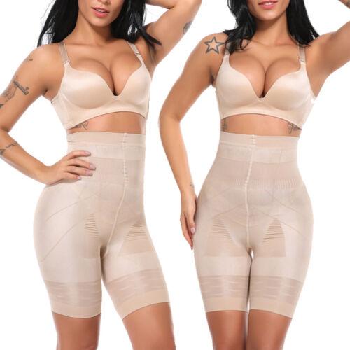 Women/'s Tummy Control Shapewear High Waisted Body Shaper Shorts Slimming Pants