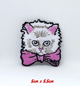 Moelleux-Chat-Mignon-Animal-Brode-Repasser-Patch-a-Coudre-1200