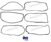 Mercedes W114 W115 Seal Kit (6 Pc) Doors +windshields Rubber Weatherstrip Gasket