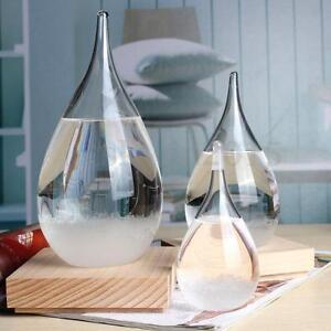Image Is Loading Weather Forecast Crystal Drops Water Shape Storm Glass