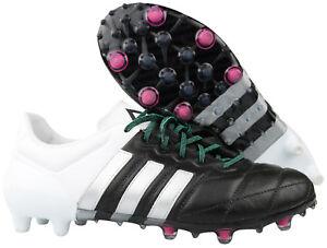 super popular 443d9 761f3 Das Bild wird geladen Adidas-ACE-15-1-FG-AG-Herren-Fussballschuhe-