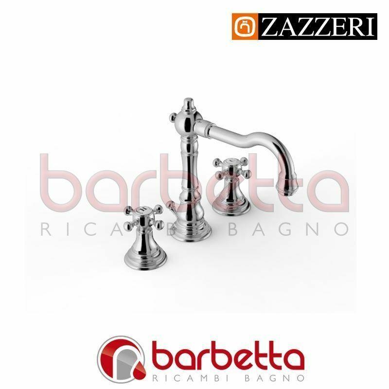 BATTERIA LAVABO COLLO GIREVOLE - KENT 2 ZAZZERI 55010102A00