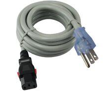 BAFO 40271-8 Twist-Lock Power Cord NEMA L5-15P Plug To IEC C13 8/' 14 AWG 15A SJT