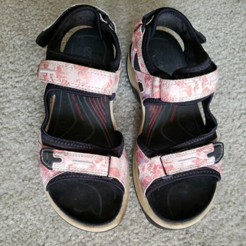 ECCO Multi-color Pastel Yucatan Sport Sandals Shoe