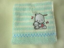 Sanrio Original Pochacco mini towel NEW blue