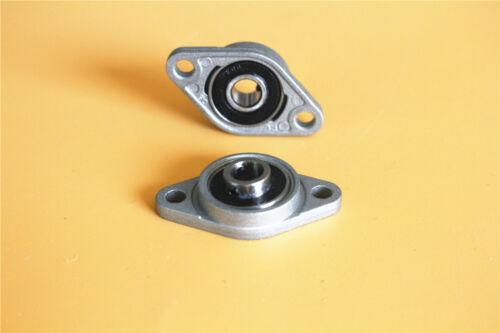 2//4 Stück Flanschlager KFL08-8mm Gehäuselager Stehlager flange bearing CNC
