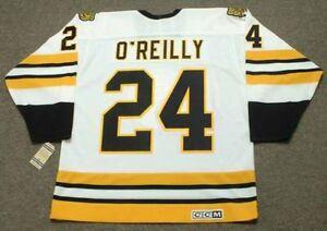 TERRY O REILLY Boston Bruins 1984 CCM Vintage Throwback Home NHL ... 7d9e77888