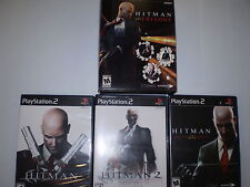 PLAYSTATION 2 HITMAN TRILOGY USED UNTESTED
